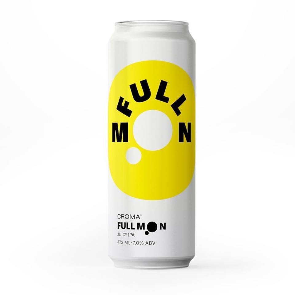 Croma Full Moon Lata 473ml NE IPA