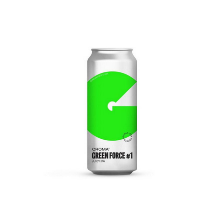 Croma Green Force 2 Mosaic Lata 473ml Juicy IPA