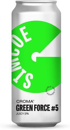 Croma Green Force #5 Simcoe Lata 473ml juicy IPA