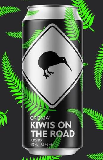 Croma Kiwis On The Road Lata 473ml Juicy IPA