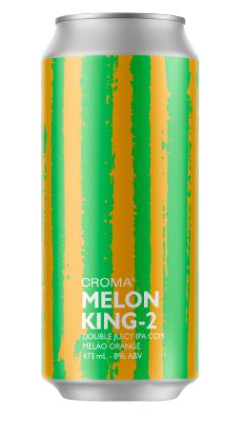 Croma Melon King 2 Lata 473ml Double Juicy IPA com Melão