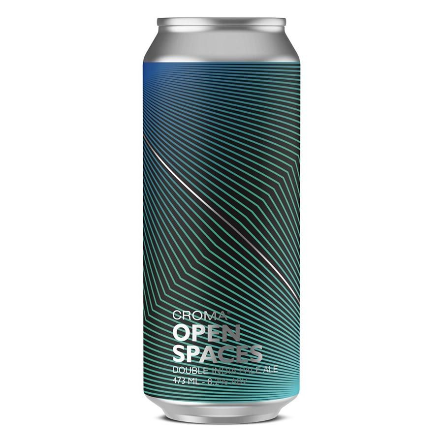 Croma Open Space Double IPA Lata 473ml