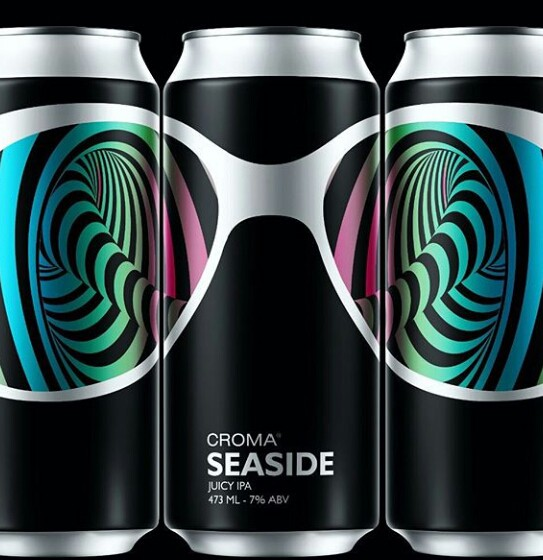 Croma Seaside juicy IPA Lata 473ml