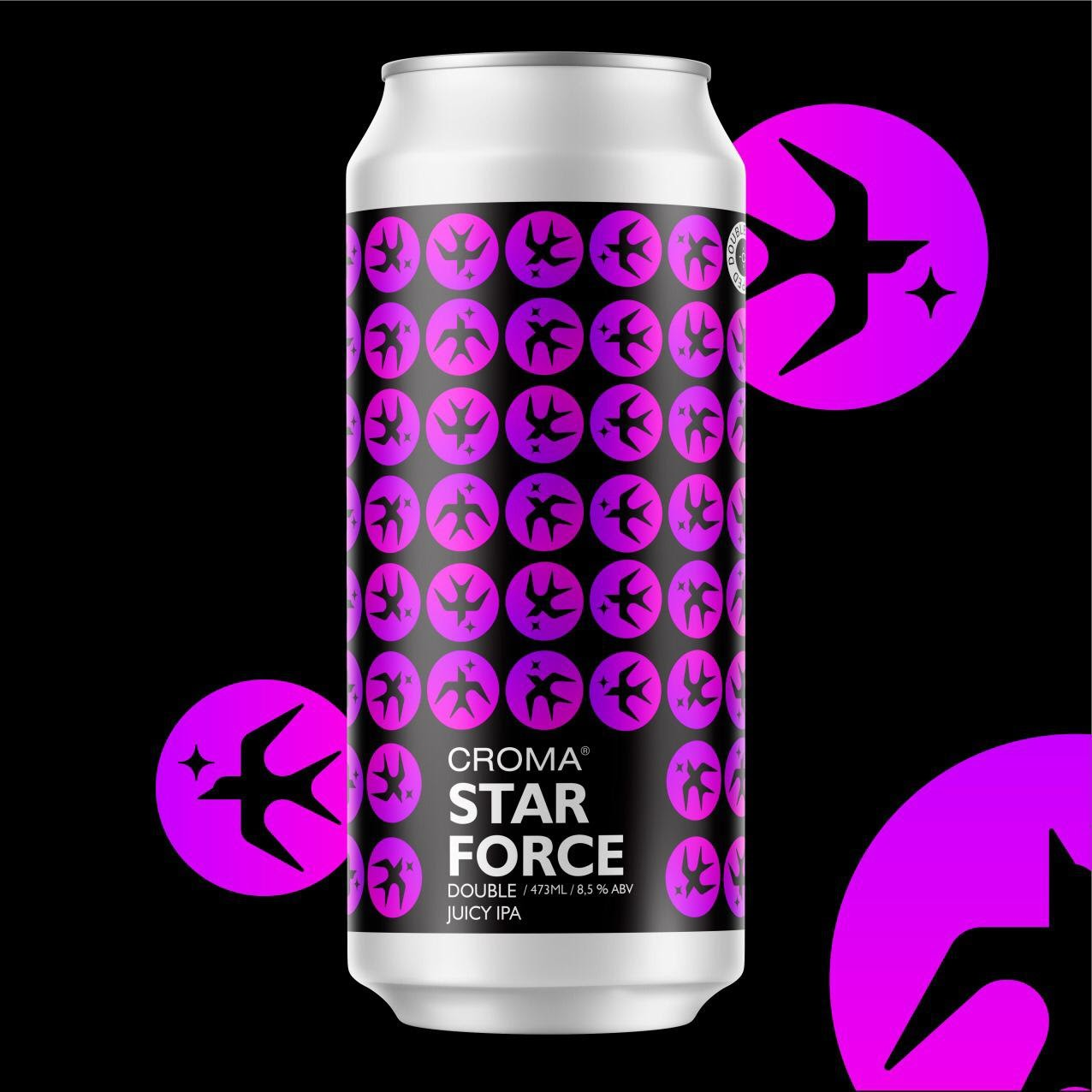 Croma Star Force Lata 473ml Double Juicy IPA
