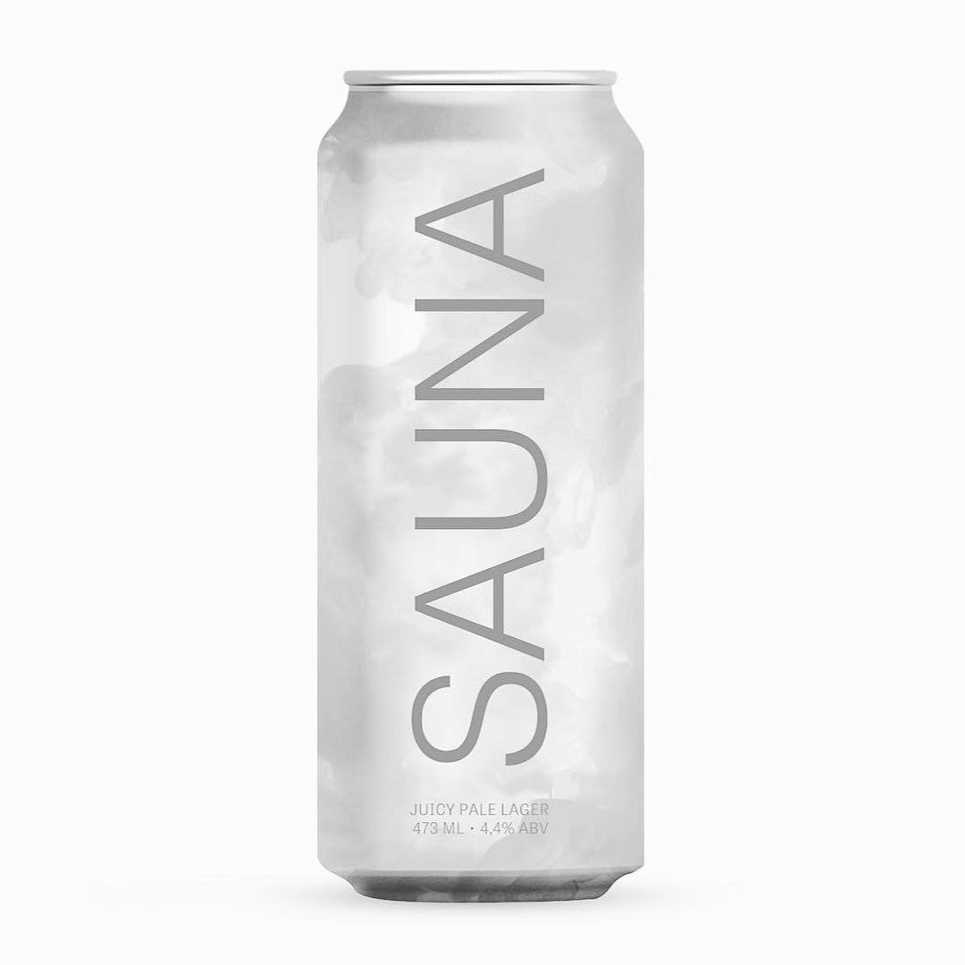Croma / Three Monkeys Beer Sauna Lata 473ml juicy Pale Lager