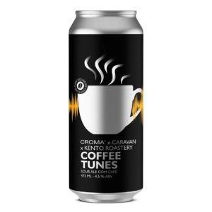 Croma  x  Kento Roastery Coffee Tunes   Lata 473ml Sour Ale com café
