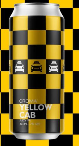 Croma Yellow Cab Lata 473ml Juicy IPA