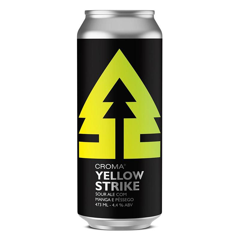 Croma Yellow Strike  Sour Ale Lata 473ml