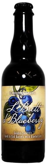 Crooked Stave L' Brett d' Blueberry 375ml