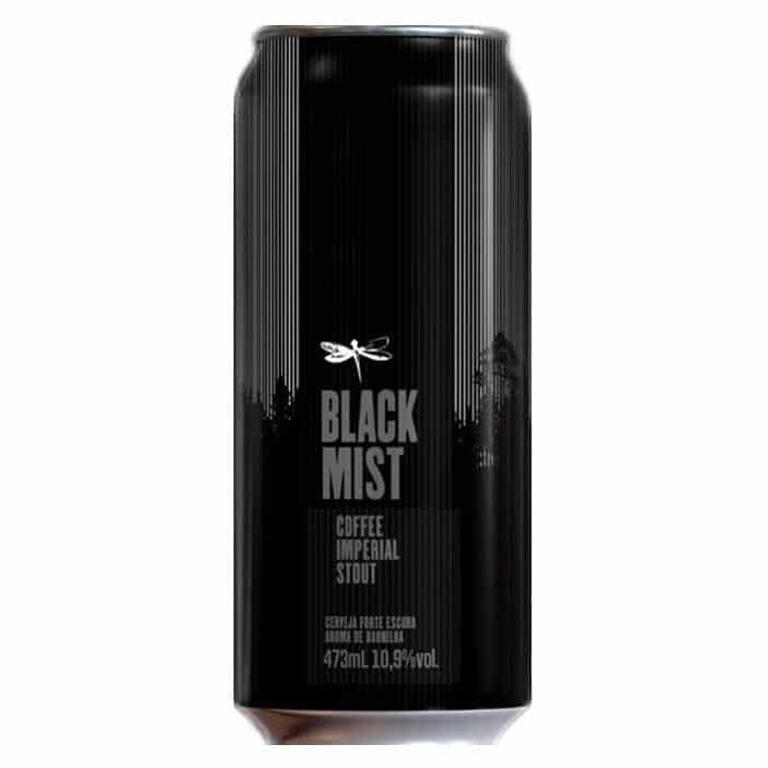 Dádiva Black Mist Coffee Imperial Stout Lata 473ml