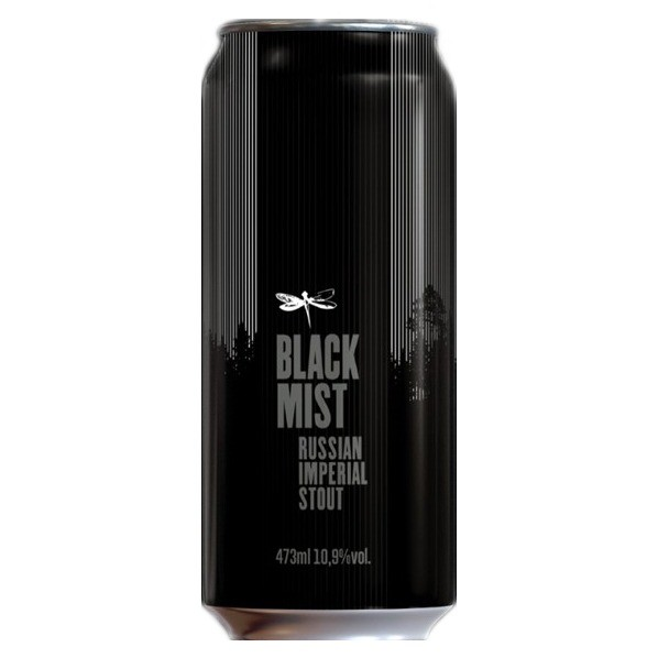 Dadiva Black Mist Russian Imperial Stout Lata 473ml