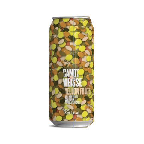 Dádiva Candy Weisse Yellow  Fruits  473ml Berliner Weiss