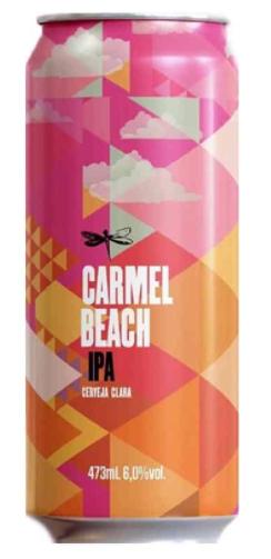 Dádiva Carmel Beach Lata 473ml West Coast IPA