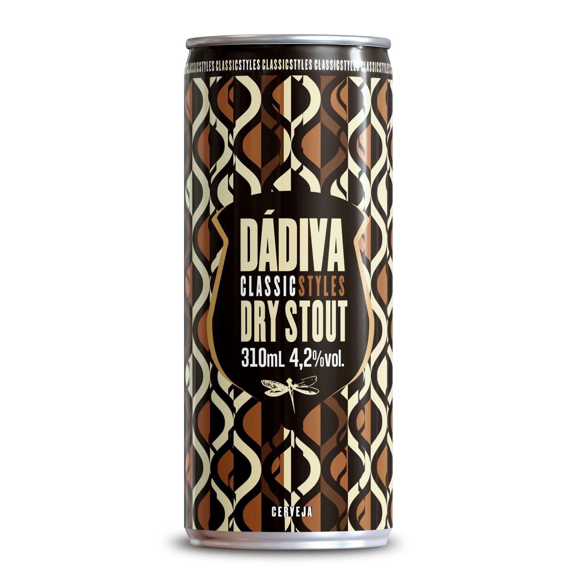 Dádiva Classic Styles Dry Stout Lata 310ml