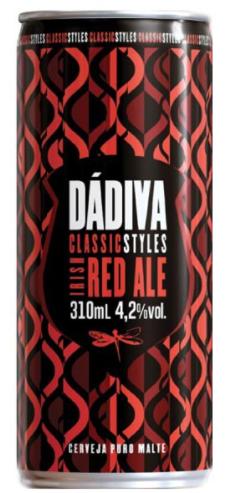 Dádiva Classic Styles Irish Red Ale Lata 310ml