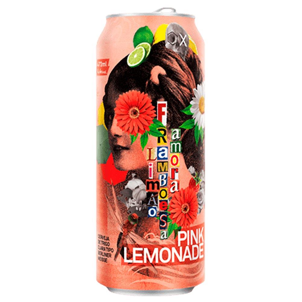 Dádiva & 2 Cabeças Pink Lemonade 473ml Berliner Weiss