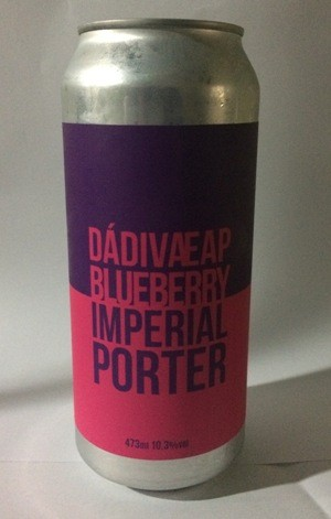 Dádiva EAP Blueberry Imperial Porter Lata 473ml