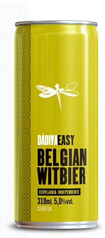 Dádiva Easy Belgian Witbier Lata 310ml