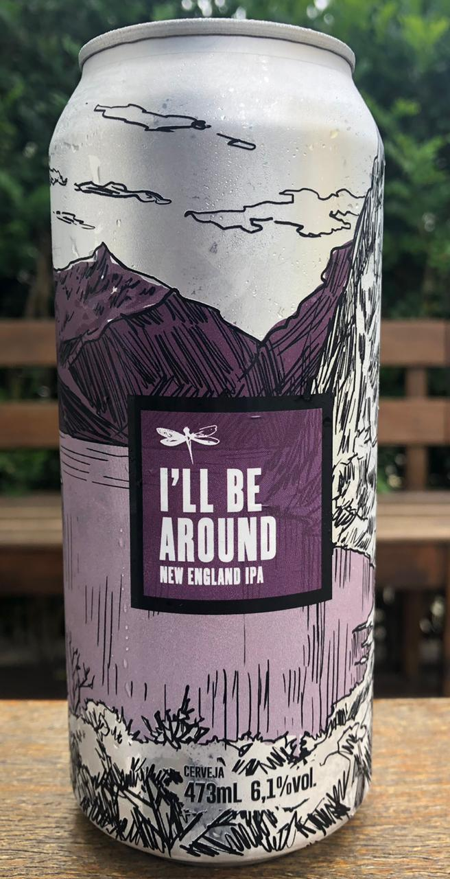 Dádiva I´ll Be Around Lata 473 ml New England IPA