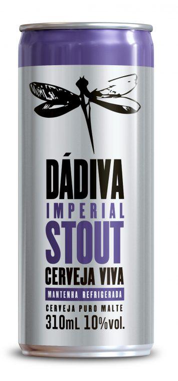 Dádiva Imperial Stout - Lata 310ml