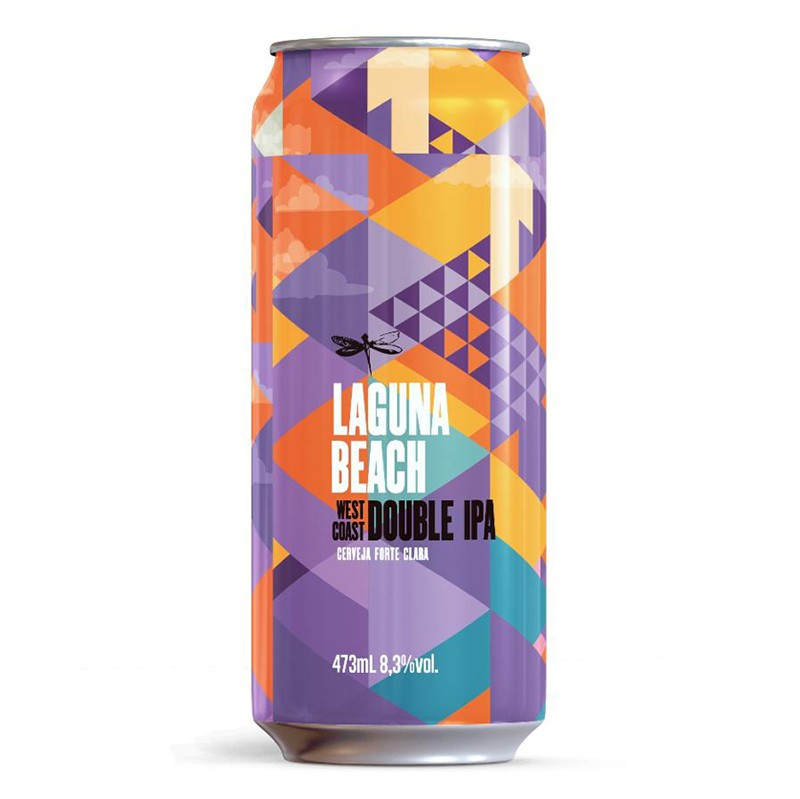 Dadiva Laguna Beach Lata 473ml West Coast Double IPA