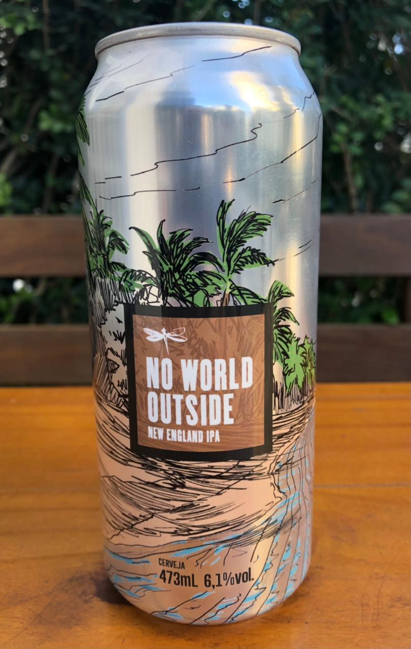 Dádiva No World Outside Lata 473ml - New England IPA