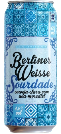 Dádiva/Post Scriptum Sourdade Lata 473ml Berliner Weisse