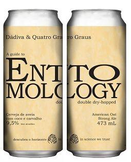 Dadiva / Quatro graus Entomology Lata 473ml American Oat Strong Ale