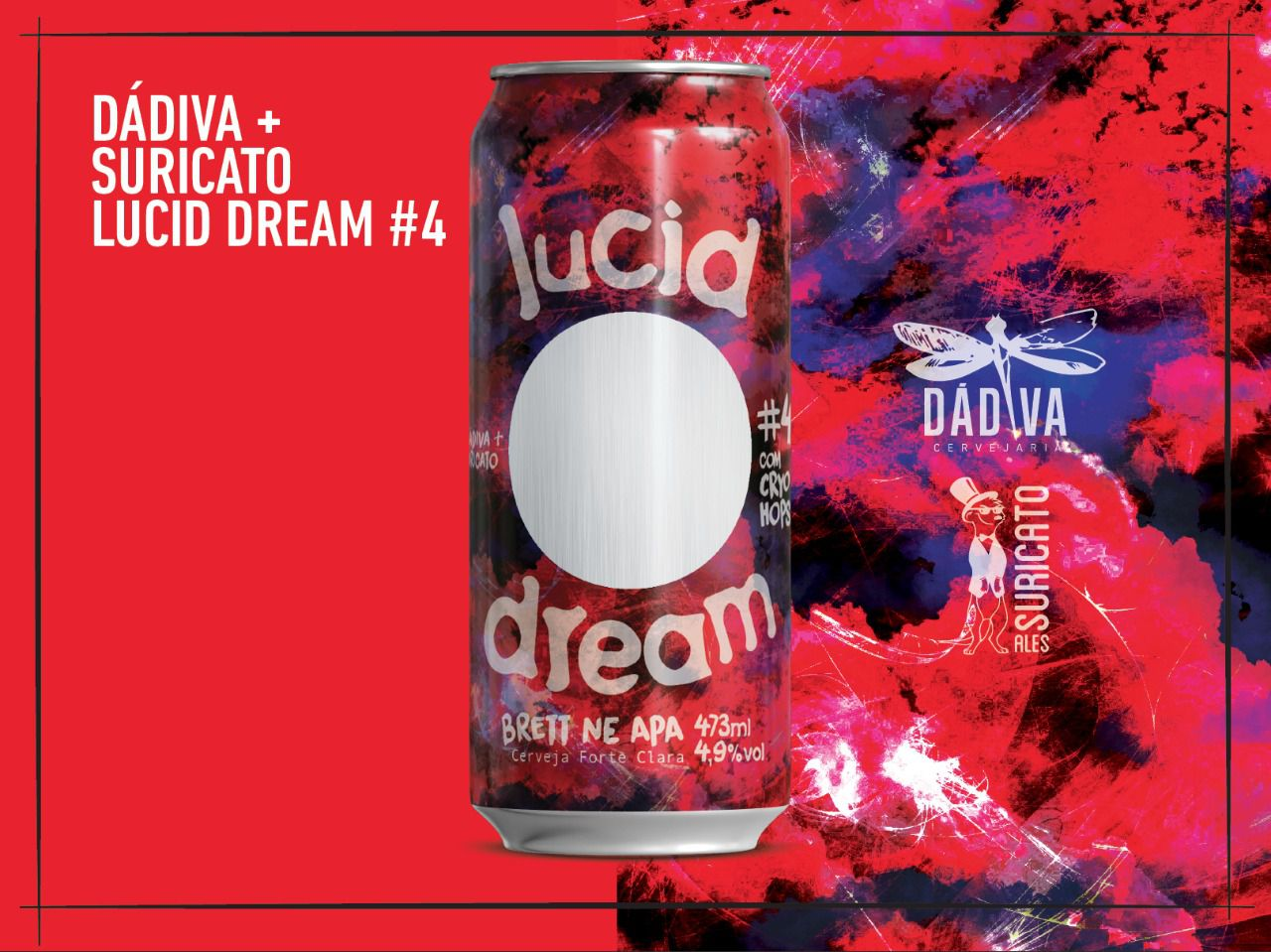 Dádiva / Suricato Lucid Dream # 4 Lata 473ml NE APA