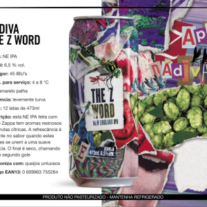 Dádiva The Z Word - Lata 473ml - New England Ipa