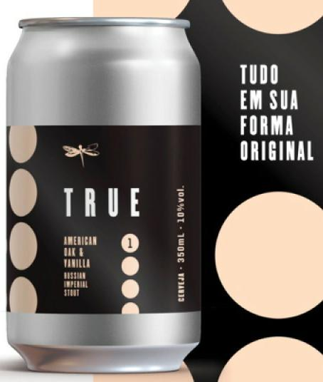 Dádiva True 1 American Oak & Vanilla RIS 350ml