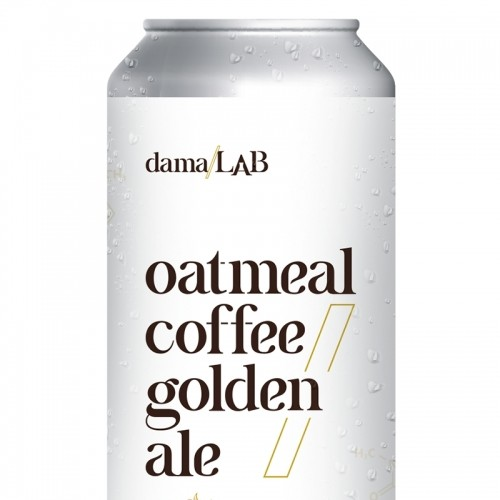 Dama Lab  Oatmeal Coffee Golden Ale Lata 473ml
