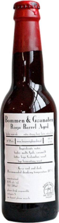 De Molen Bommen & Granaten Rioja 330ml Barley Wine BA
