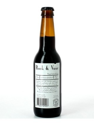 De Molen Rook & Vuur 330ml Smoked Stout