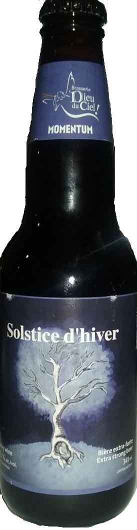 Dieu Du Ciel Solstice d'Hiver 341ml Barley Wine