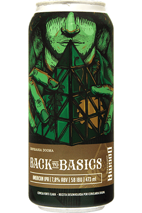 Dogma Back to Basics Lata 473ml American IPA