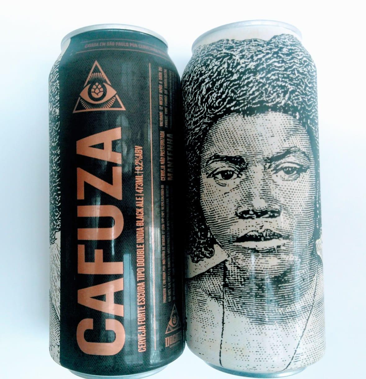 Dogma Cafuza Lata  473ml Black IPA