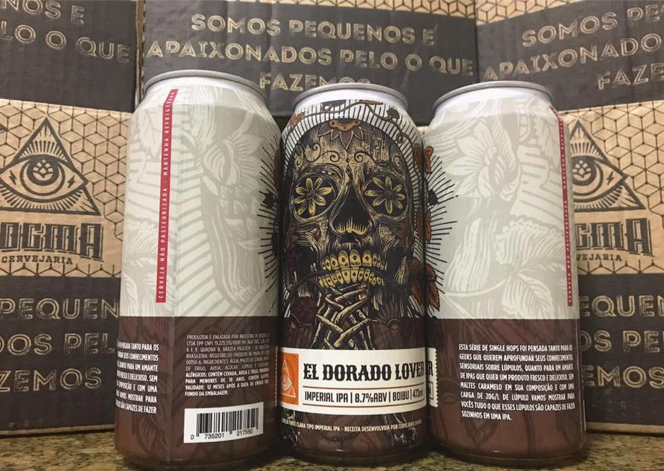 Dogma El Dorado Lover Lata 473ml Imperial IPA