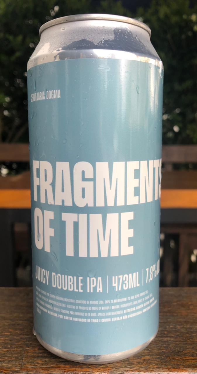 Dogma Fragments Of Time Lata 473ml Juicy Double IPA