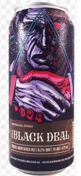 Dogma / Maniba The Black Deal Lata 473ml Double India Black Ale