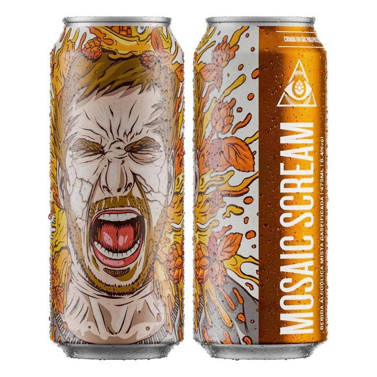 Dogma Mosaic Scream Milkshake IPA Lata 473ml