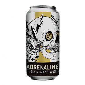 Doktor Brau Adrenaline Lata 473ml  Double NE IPA