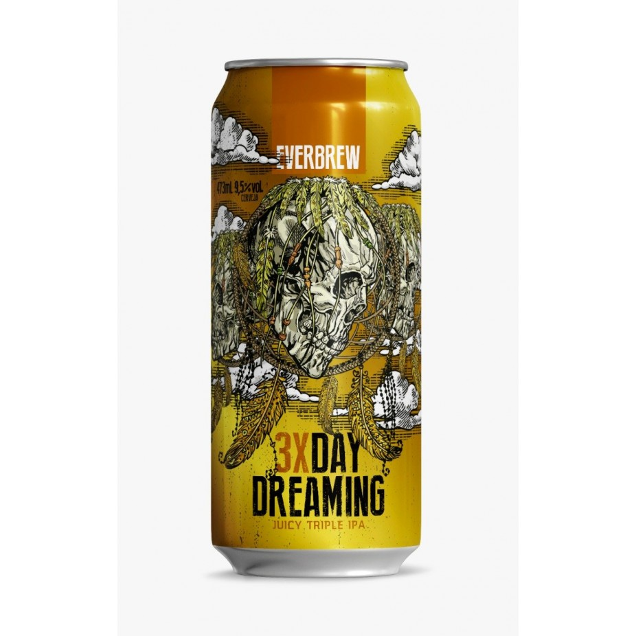 Everbrew 3x Day Dreaming - Lata 473ml - Juicy Triple Ipa