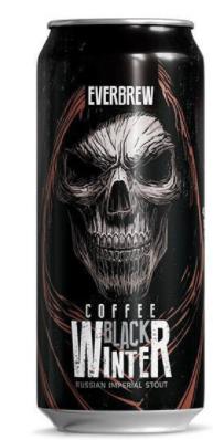 Everbrew Black Winter Coffee Lata 473ml RIS com Café