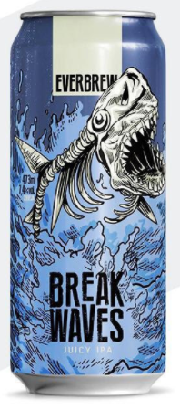Everbrew Break Waves Lata 473ml Juicy IPA