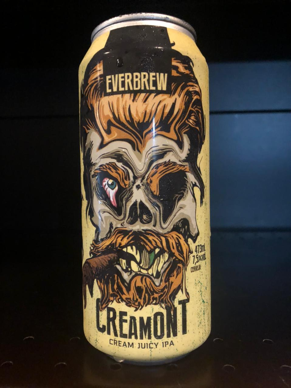 Everbrew Creamont Lata 473ml - Cream Juicy IPA