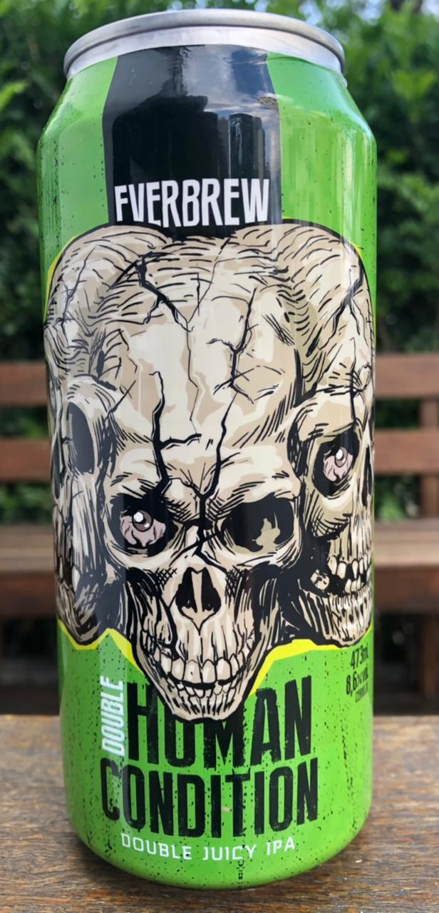 Everbrew Double Human Condition Lata 473ml Double Juicy IPA