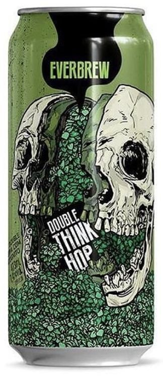 Everbrew Double Think Hop - Lata 473ml - Juicy Double Ipa