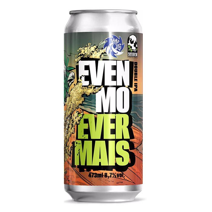 Everbrew & Sand City Brewing Evenmo Evermais Lata 473ml Double Ipa