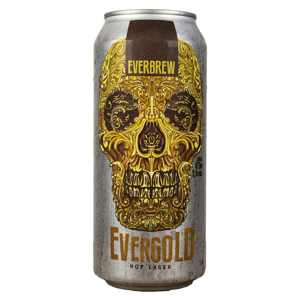 Everbrew Evergold Hop Lager Lata 473ml